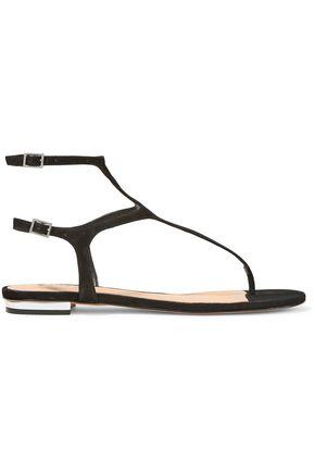SCHUTZ Galey cutout suede sandals