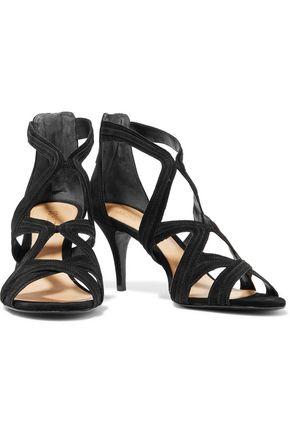 SCHUTZ Cayenne cutout suede sandals