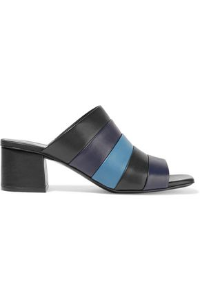 OPENING CEREMONY Ellenha striped leather mules