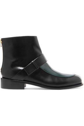 MARNI Two-tone leather boots