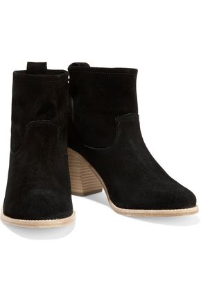 SOLUDOS Suede ankle boots