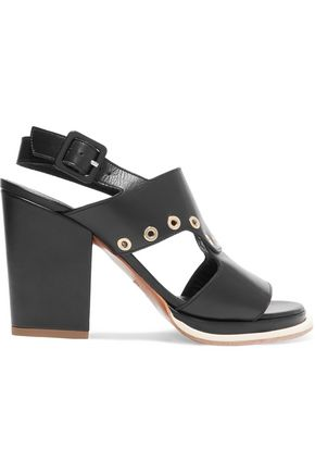 ROBERT CLERGERIE Embellished leather sandals