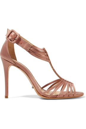 SCHUTZ Tarlin satin sandals