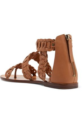 ZIMMERMANN Woven leather sandals