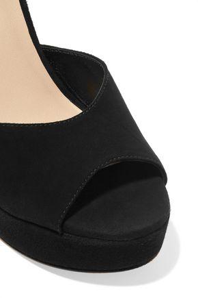ZIMMERMANN Tasseled suede sandals