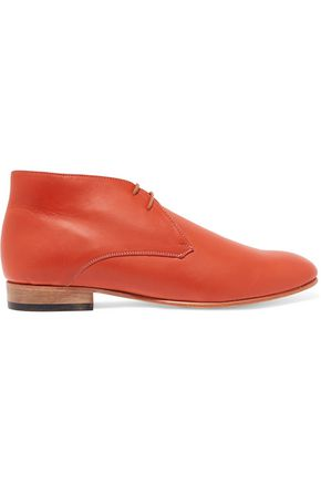 DIEPPA RESTREPO Lace-up leather ankle boots