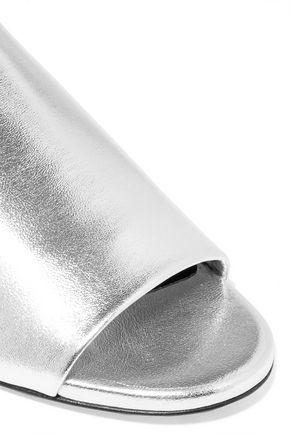 ROBERT CLERGERIE Gatok metallic leather slides