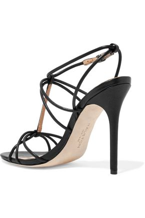 HALSTON HERITAGE Leather sandals