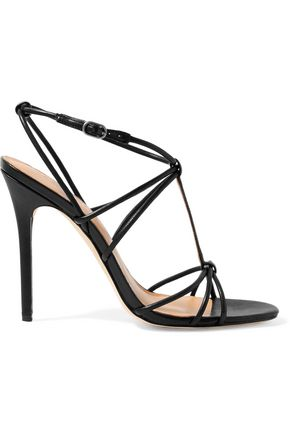 HALSTON HERITAGE Leather sandals