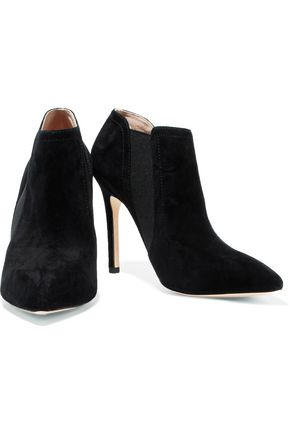 HALSTON HERITAGE Suede ankle boots