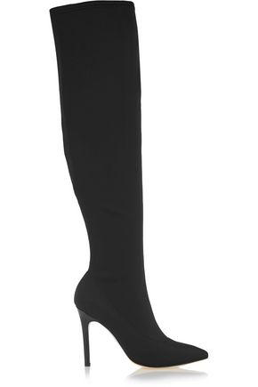 HALSTON HERITAGE Dani neoprene over-the-knee boots