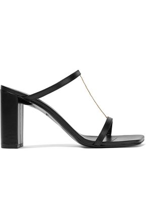 ROBERT CLERGERIE Maia embellished leather sandals