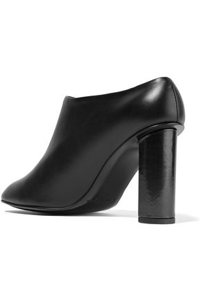 ROBERT CLERGERIE Tito leather ankle boots