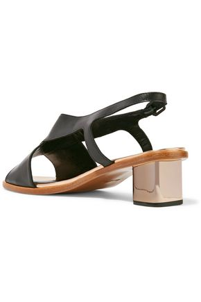 ROBERT CLERGERIE Zimola Cutout leather sandals