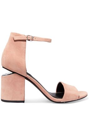 ALEXANDER WANG Abby cutout suede sandals