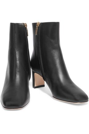 DOLCE & GABBANA Biker leather ankle boots