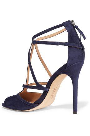 HALSTON HERITAGE Monica suede sandals