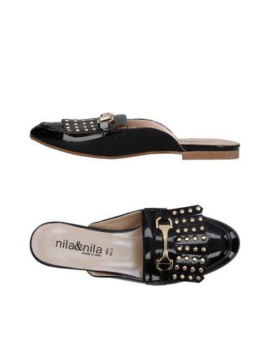 Zoccoli Nero donna NILA&NILA Mules&Zoccoli donna