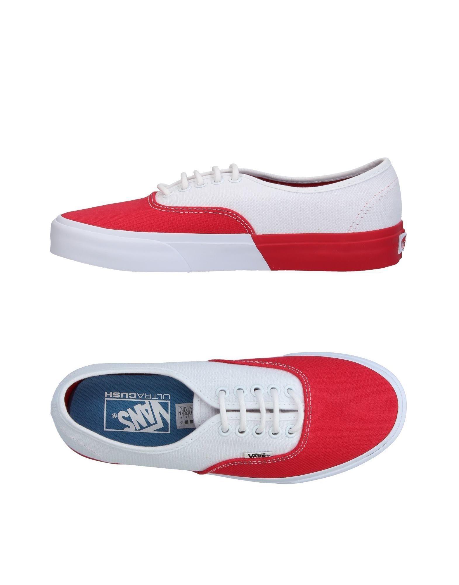 VANS Низкие кеды и кроссовки vans кеды vans authentic pro 50th 66 duke red white 10 5