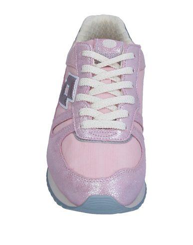 Фото 2 - Низкие кеды и кроссовки от LOTTO LEGGENDA светло-розового цвета