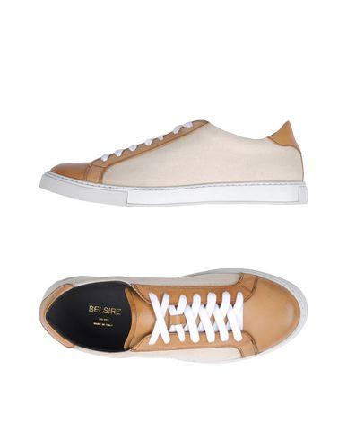 Фото - Низкие кеды и кроссовки от BELSIRE бежевого цвета