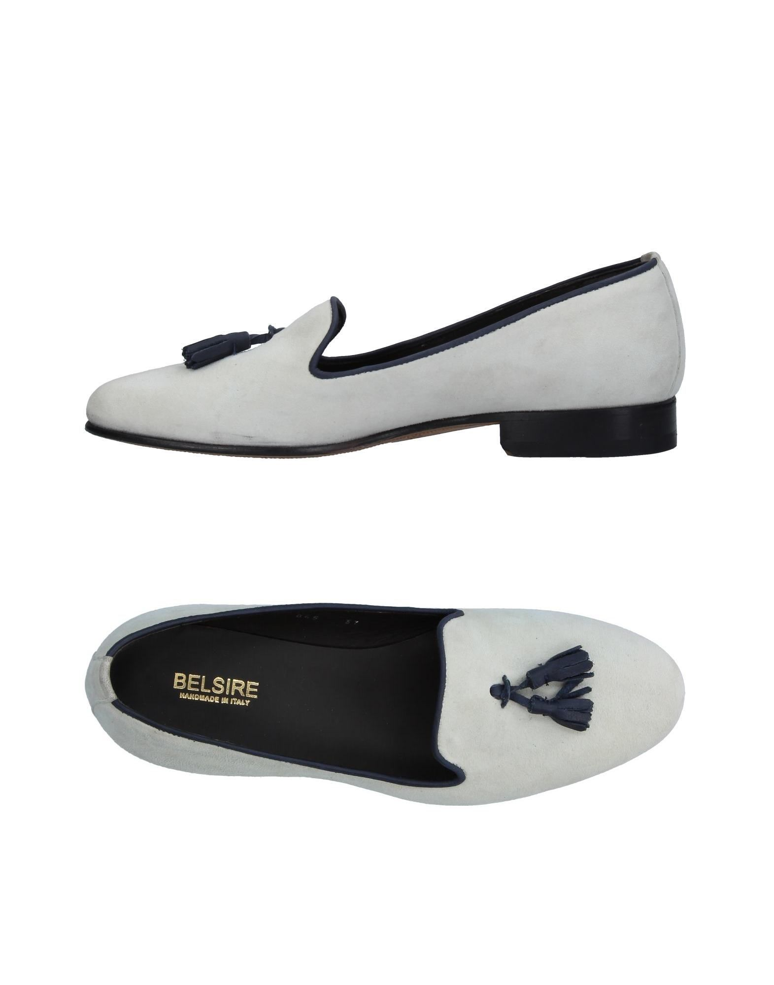 BELSIRE Loafers in Ivory