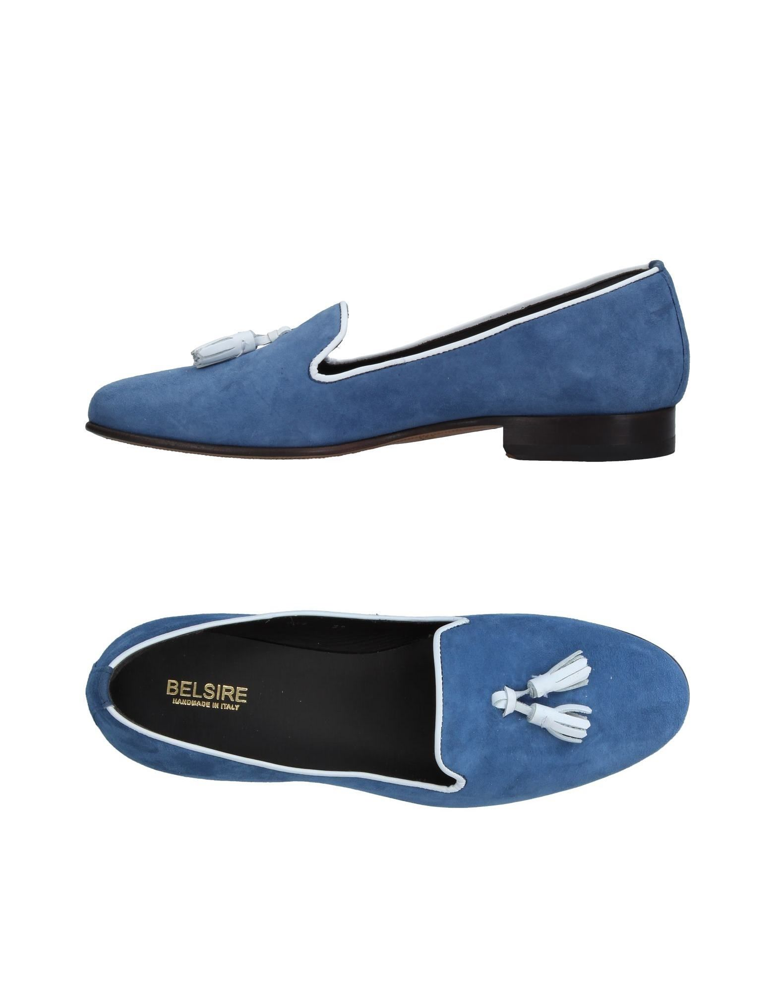 BELSIRE Loafers in Pastel Blue