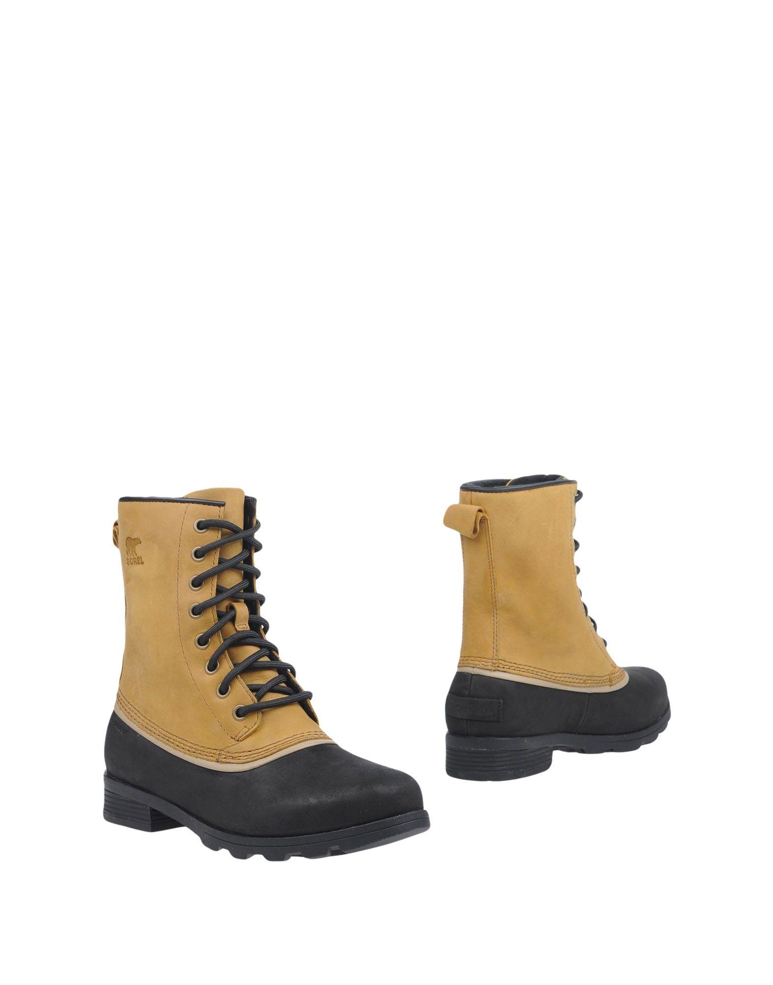 все цены на SOREL Полусапоги и высокие ботинки онлайн