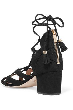 MICHAEL MICHAEL KORS Mirabel lace-up suede sandals
