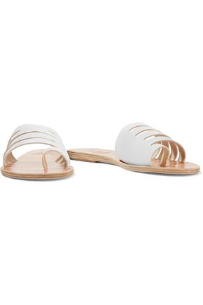 ANCIENT GREEK SANDALS Agora cutout leather slides