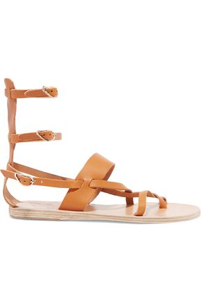 ANCIENT GREEK SANDALS Alethea leather gladiator sandals