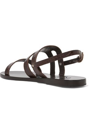 ANCIENT GREEK SANDALS Athanasia leather sandals