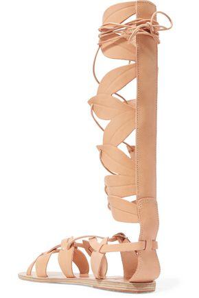 ANCIENT GREEK SANDALS Filareskia lace-up leather sandals