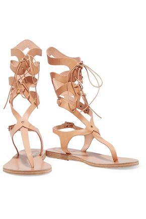 ANCIENT GREEK SANDALS Kori lace-up leather sandals