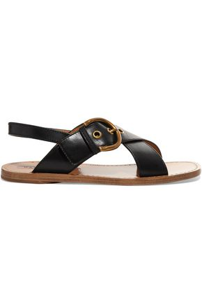 MARC JACOBS Patti buckled leather sandals
