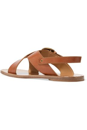 MARC JACOBS Patti leather sandals
