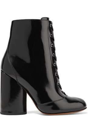 MARC JACOBS Tori patent-leather ankle boots