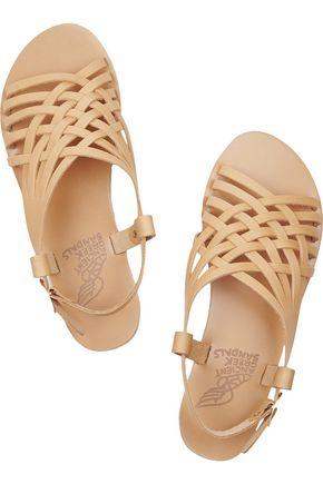 ANCIENT GREEK SANDALS Maria woven leather sandals