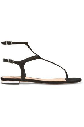 SCHUTZ Galey cutout suede sandals