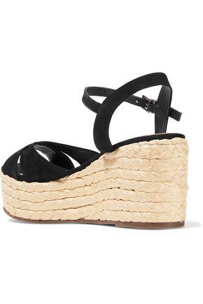 SCHUTZ Keisi suede wedge sandals