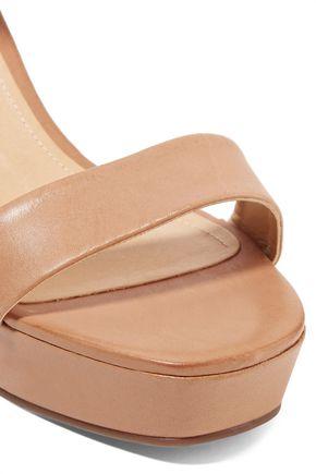 SCHUTZ Rhenda leather platform sandals