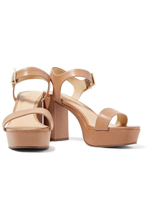 Rhenda leather platform sandals | SCHUTZ | Sale up to 70% off | THE OUTNET