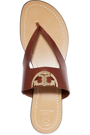 TORY BURCH Sidney embellished leather sandals