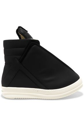 RICK OWENS DRKSHDW leather ankle boots