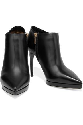 JIMMY CHOO Lindsey leather ankle boots