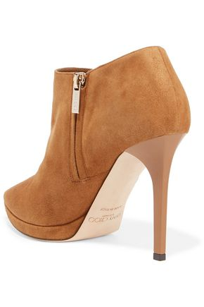 JIMMY CHOO Lindsey suede boots