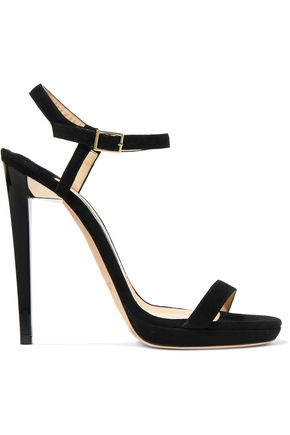 JIMMY CHOO Claudette suede sandals