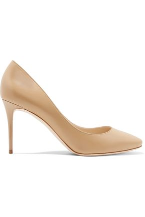 JIMMY CHOO Esme leather pumps