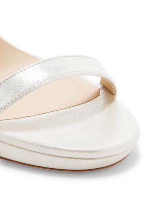 JIMMY CHOO LONDON Claudette embellished leather sandals
