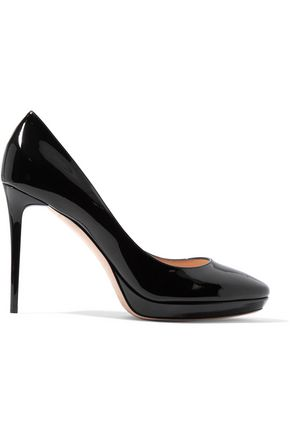 JIMMY CHOO Hope patent-leather pumps